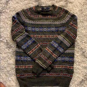 JCREW Wool Fair Isle Sweater